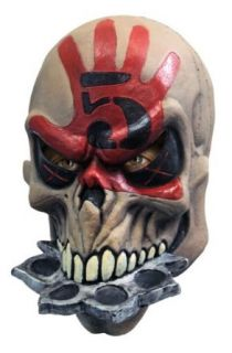 Rubies Costume Five Finger Punch Adult Mask, Death, Adult