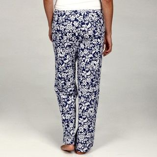 Nauica Womens Prined Anke Pajama Pans (Se of 2)