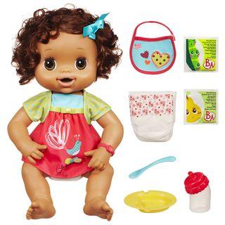 Baby Alive Brunette Doll