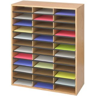Safco 36 compartment Literature Organizer Today $95.37 2.0 (5 reviews