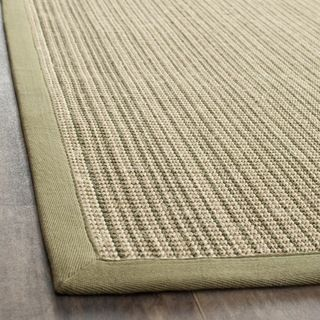 Dream Natural Fiber Green Sisal Rug (4 x 6)