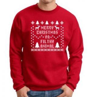 Merry Christmas Ya Filthy Animal PREMIUM Crewneck