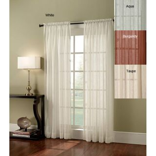 Crushed Lurex Stripe 95 inch Curtain Panel