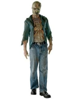 Mens the Walking Dead Deluxe Decomposed Zombie Costume STD