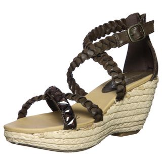 Unlisted by Kenneth Cole Womens Good Buy Braided Wedge Sandals