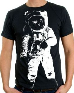 Space Astronaut Man on the Moon T Shirt/Tee by Dolphin