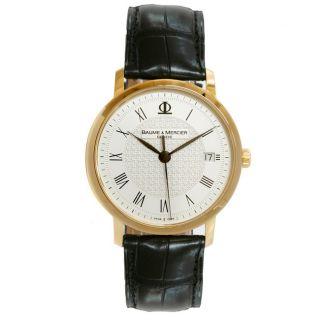 Baume & Mercier Classima Mens Gold Watch