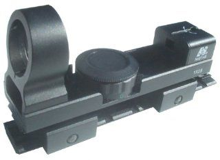 Tactical 1x25 Red Green Dot Reflex Sight And Scope Mount