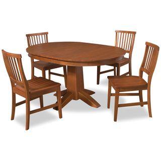 Arts & Crafts Cottage Oak 5 piece Dining Set