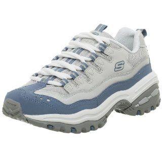 Skechers Womens Energy 2 Glitzy Sneaker,Blue,6 M Shoes