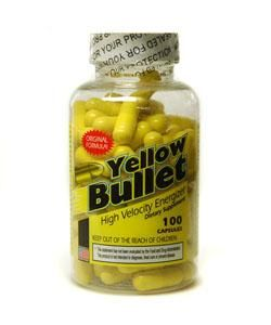 Yellow Bullet High Velocity Energizer (100 Capsules)