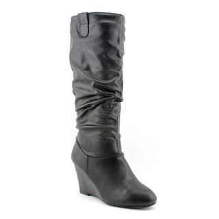 Rampage Womens Swift 1 Faux Leather Boots