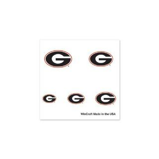 GEORGIA BULLDOGS OFFICIAL LOGO FINGERNAIL TATTOOS: Sports