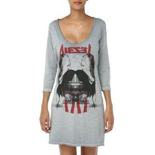 DIESEL Robe Dromb Kleid Femme Bleu gris, rouge, noir   Achat / Vente