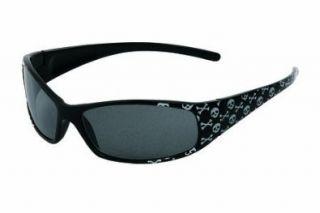 (Shiny Metallic Black Frames   Smoke with Silver Mirror Lens) Shoes