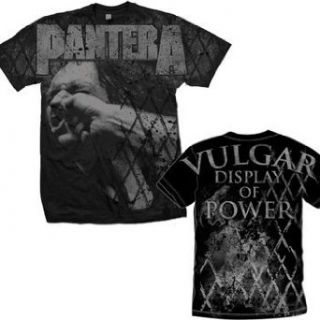 Pantera Vulgar Display of Power Allover Print T shirt