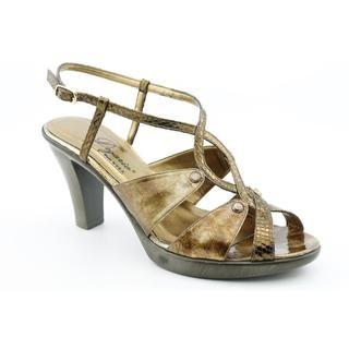 Dezario Womens Alice Patent Leather Sandals (Size 11)