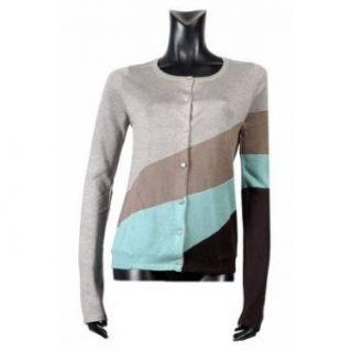 Zadig & Voltaire silk / cashmere stripe cardigan with