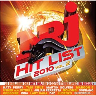 COMPILATION   NRJ HIT LIST 2010 VOL.2 (2CD)   Achat CD COMPILATION pas