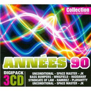 LES PLUS GRANDS TUBES DES ANNEES 90   Compilation   Achat CD