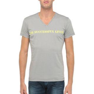 DIESEL T Shirt Stary Homme Gris   Achat / Vente T SHIRT DIESEL T Shirt