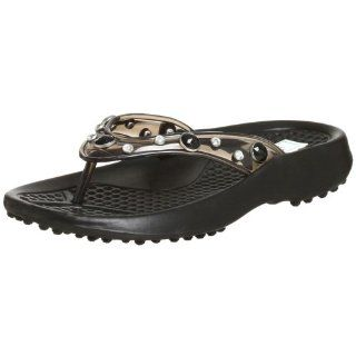 Veggies Womens Julie Sandal,Black,6 M Shoes