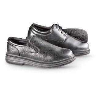 Mens Soft Stags Traverse Slip   ons Black, BLACK, 9EE Shoes