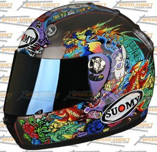 Suomy Vandal Tattoo Flash Full Face Helmet 2X Large