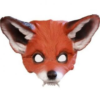 Red Fox Mask for Halloween Costume Clothing