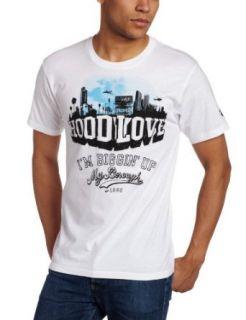 Rocawear Mens Short Sleeve Hood Love T Shirt, White, X