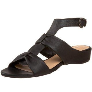 Perlina Womens Neda Sandal,Black,5.5 M US: Shoes
