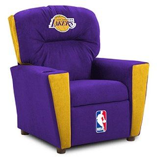 Los Angeles Lakers NBA Team Logo Kids Recliner Sports