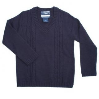 French Toast School Uniforms Cable Knit Sweater Boys Navy