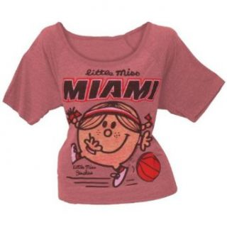 Little Miss NBA   Little Miss Miami Juniors Slouch T Shirt