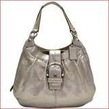 Authentic Coach Soho Leather Large Lynn Hobo Handbag 15075