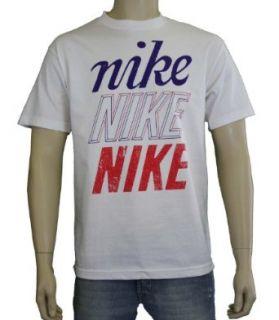 Nike Mens Nike Nike Nike Loose Fit T Shirt White 504904