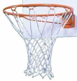 Adams Braided Nylon Basketball Net (100 Grams) Sports