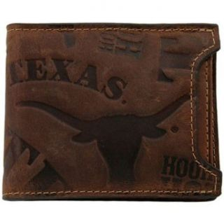 Texas Longhorns Leather Shut Out 2 in 1 Wallet Clothing