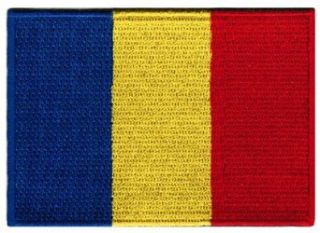 Romania Flag Embroidered Patch Romanian Iron On National