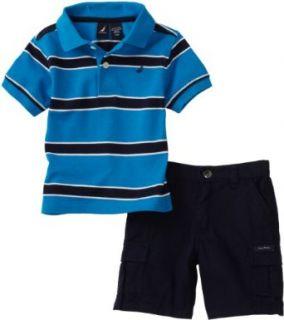 Nautica Sportswear Kids Baby Boys Infant Stripe Shirt With