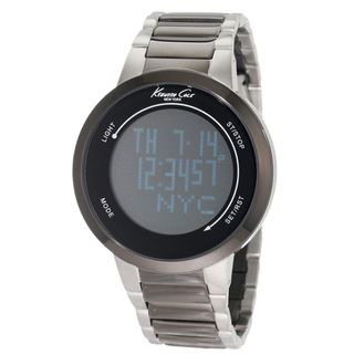 Kenneth Cole New York Mens Touch Screen Stainless Steel Watch
