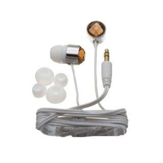 Nemo Digital Smoke/ White Crystal Stud Earbud Headphones