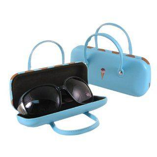 AS511TG Icon Handbag Eyeglass Case (Blue) Shoes
