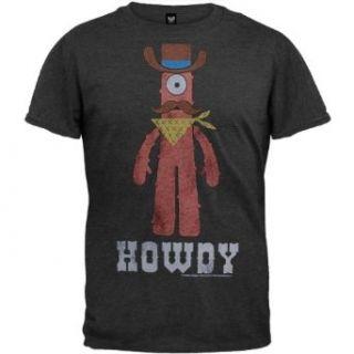 Yo Gabba Gabba   Howdy Soft T Shirt   Small Clothing