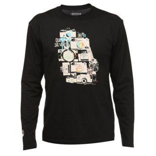 QUIKSILVER T shirt Homme noir   Achat / Vente T SHIRT QUIKSILVER Tee