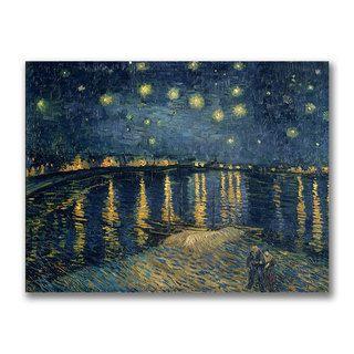 Vincent Van Gogh The Starry Night Canvas Art