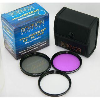 Rokinon FK52 52 mm 3 piece Filter Kit