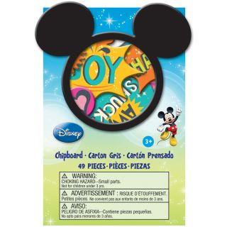 Success Disney Mickey Family Chipboard Box (49/Pkg)
