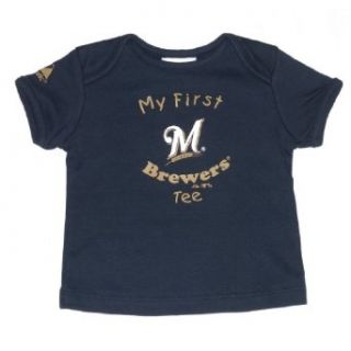 Infant Baby MLB Milwaukee Brewers My First Tee T Shirt