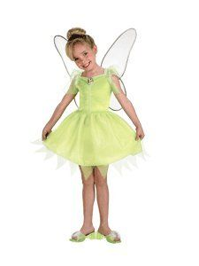 Disney Fairies Tinker Bell Costume 3T 4T Clothing